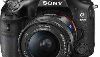 nueva cámara de lentes intercambiables Full Frame Sony Alpha A99 II