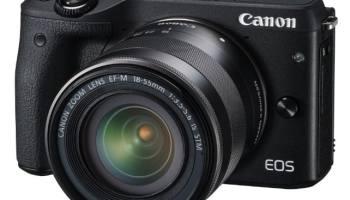 Canon EOS M3 - Cámara réflex digital de 24.7 Mp