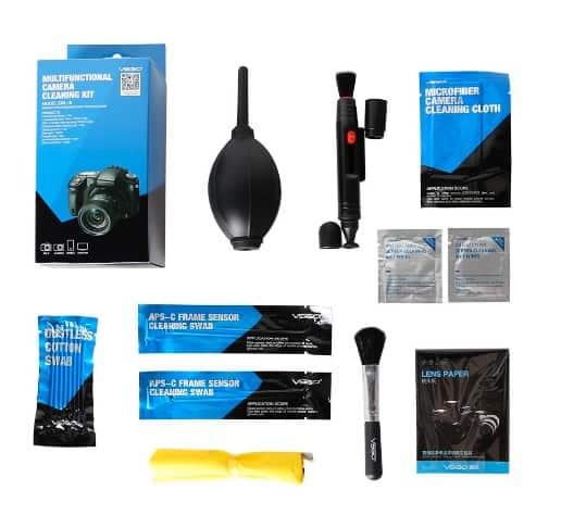UES Kit de limpieza lentes, filtros y pantalla SLR e DSLR cámara digital