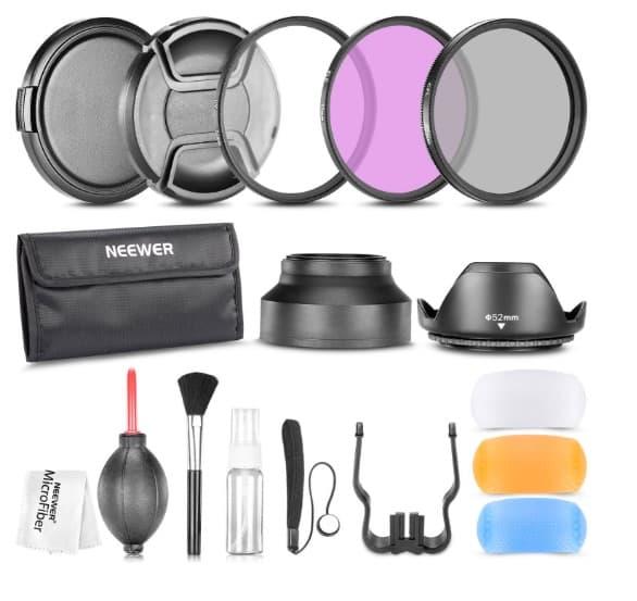 Neewer 10083791 - Pack de filtros para cámaras digitales Nikon (52 mm)