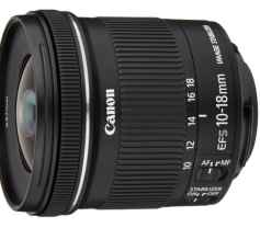 Canon EF-S 10-18 mm f:4.5-5.6 IS STM - Objetivo para Canon