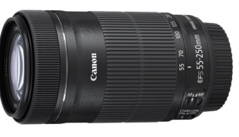 Canon EF-S 55-250 mm f/4-5.6 IS STM - Objetivo para canon