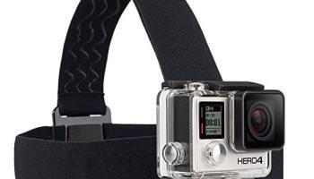GoPro Headstrap + QuickClip - Pack de accesorios para cámaras digitales GoPro Hero
