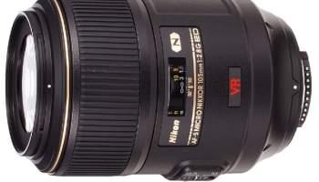 Nikon AF-S 105mm f/2.8G VR IF-ED Micro
