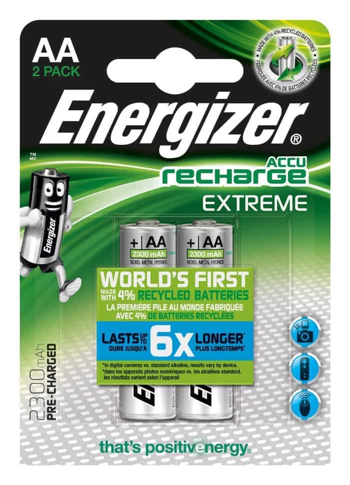 Energizer Accu Recharge Extreme 2300 AA