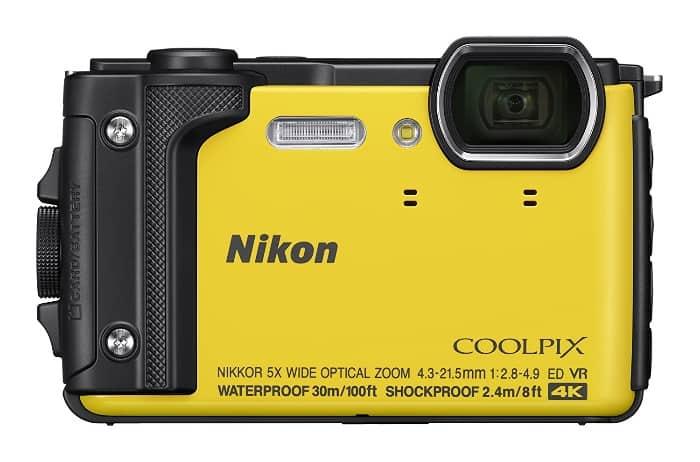 Las mejores cámaras acuáticas:Nikon Coolpix W300