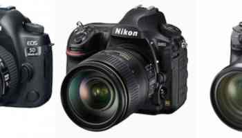 SONY A7R III vs CANON 5D MARK IV vs NIKON D850