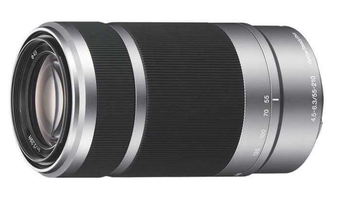 Sony 55-210 mm f/4.5-6.3 OSS