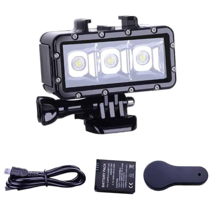 Los mejores accesorios para tu GoPro HERO6, HERO5, HERO4
