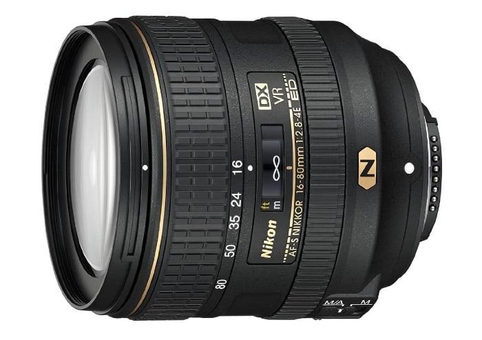Nikon AF-S DX 16-80mm f/2.8-4E ED VR - Objetivo zoom para Nikon