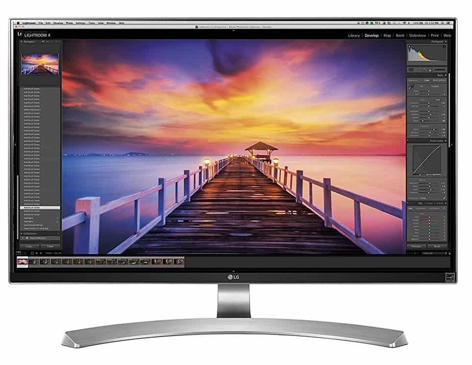 Monitor fotografia: LG 27UD88-W