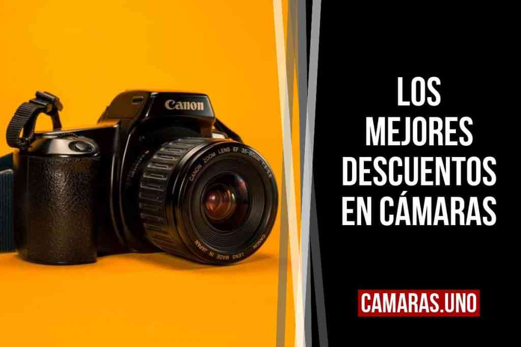 Las mejores rebajas: cámaras y equipo fotográfico (Amazon España)