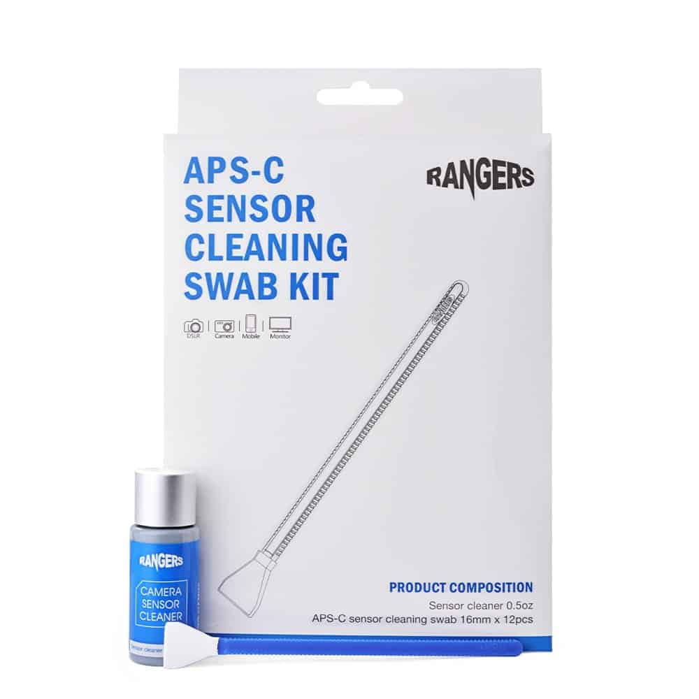 Kit para limpiar sensor de cámara con sensor APS-C