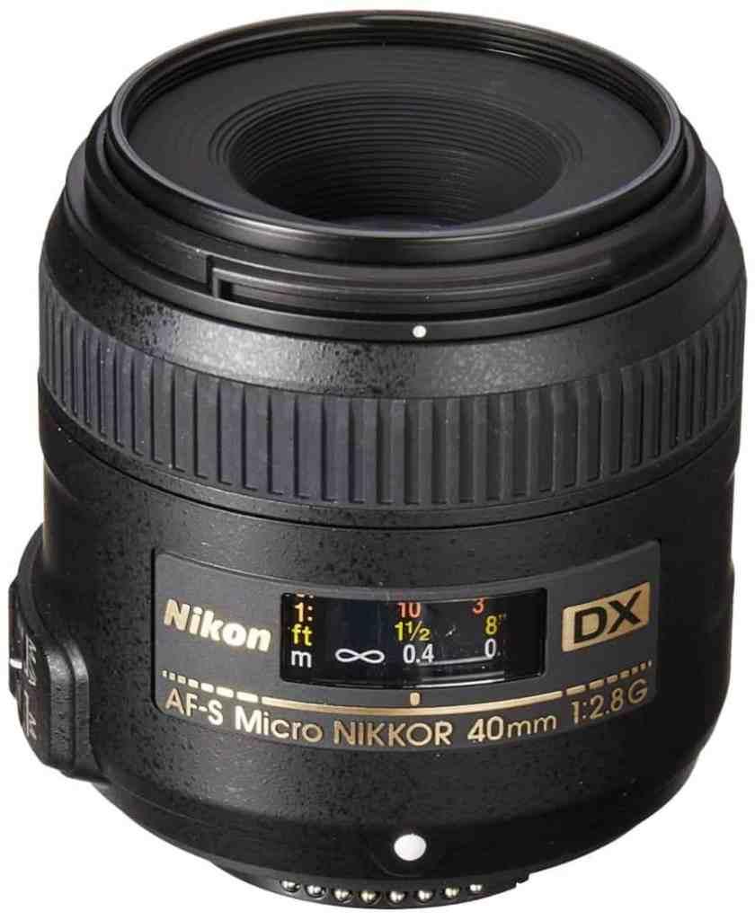 Nikon AF-S DX Micro-Nikkor 40mm 1:2.8G