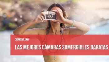 mejores cámaras sumergibles baratas
