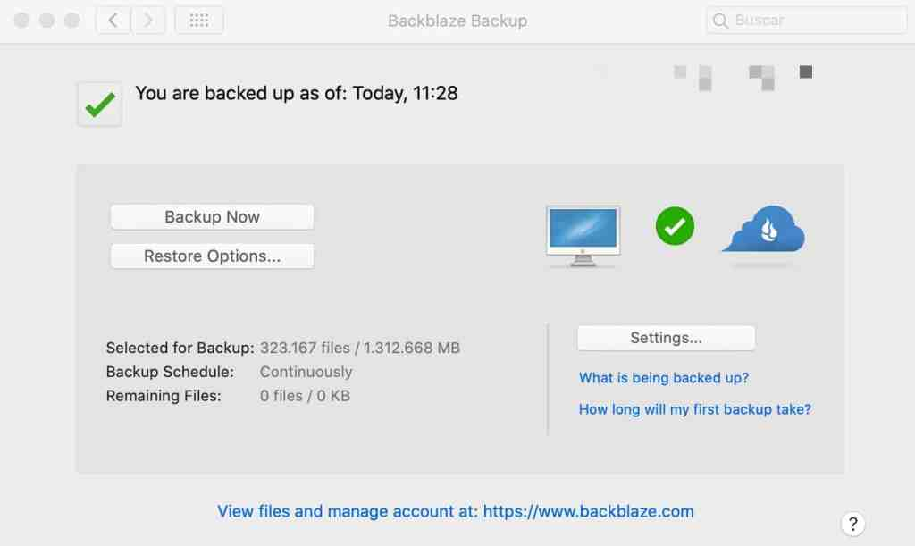 BackBlaze (Personal Cloud Backup)