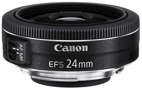 Canon Pancake EF-S 24 mm f/2.8 STM - Objetivo para Canon