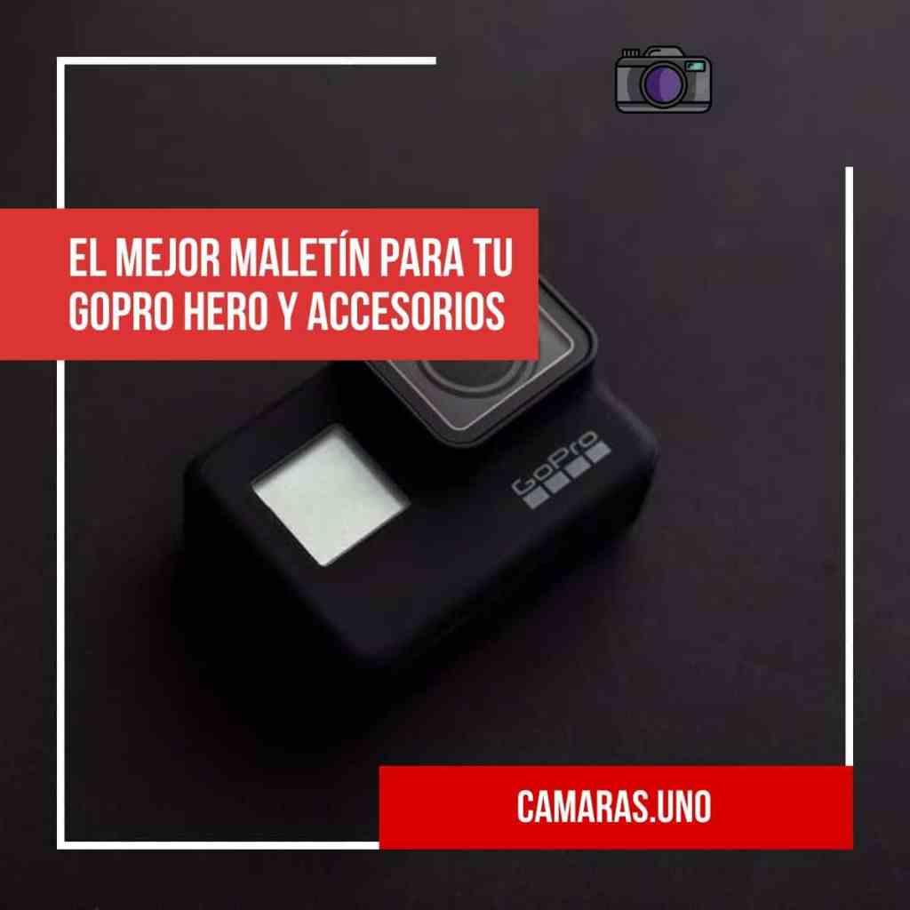 El mejor maletín para tu GoPro HERO y accesorios