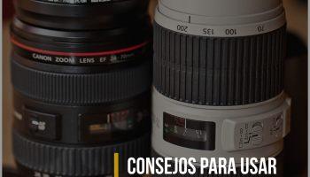 8 consejos para usar las lentes de una cámara Canon