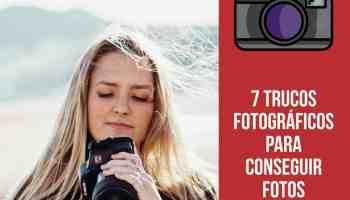 ¿Quieres conocer más trucos para conseguir las mejores fotografías?