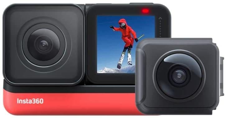 Insta360 One R Twin Edition: cámara de acción 4K y cámara de 5.7K 360 con Lentes Intercambiables