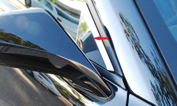 2016 – 2021 6Th Gen Camaro V6 & V8 Mirror Pillar Trim Covers
