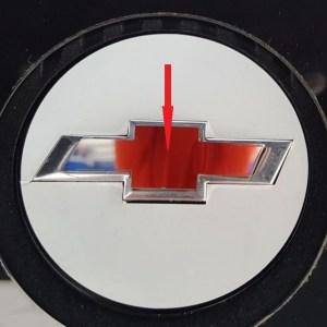2010 – 2015 5Th Gen Camaro V6 Mirrored Engine Center Small Bowtie Cover