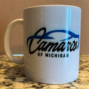 Camaros of Michigan Official Coffee Mug