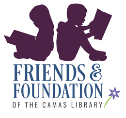 Logo for the Friends and Foundation of the Camas Library