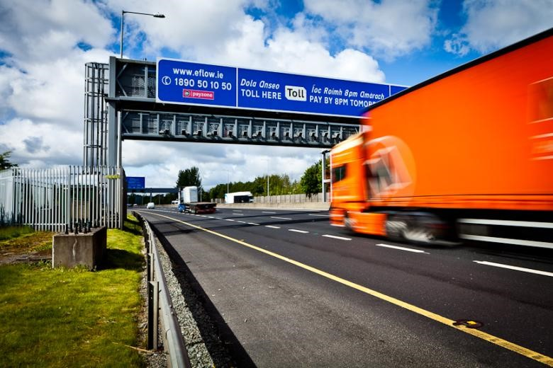 m50 toll booth picture borroed from toll website