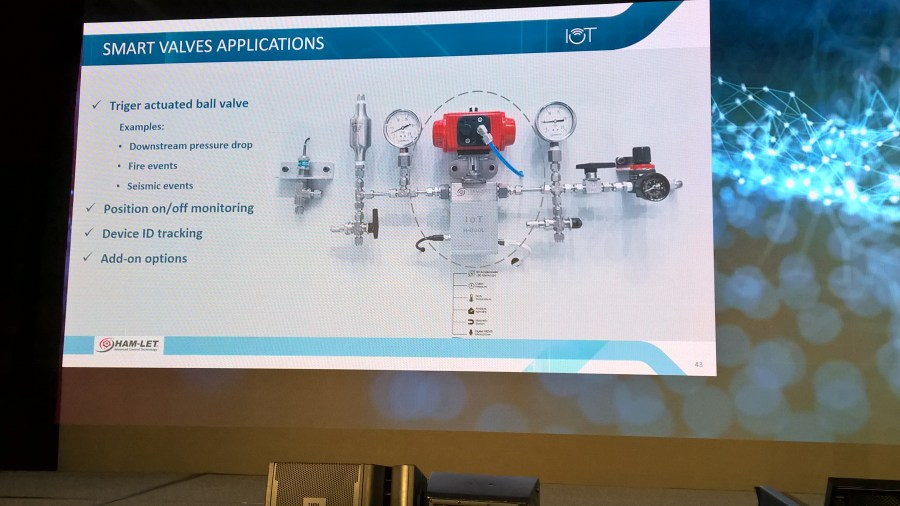 "Siemens PLM example of IoT in action - ""Smart Valves"""