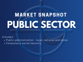 CAE Market Snapshots - Public Sector Includes: • Public administration - local, national and state • Compulsory social security