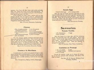 Mrs Bassett cook book recipes 3