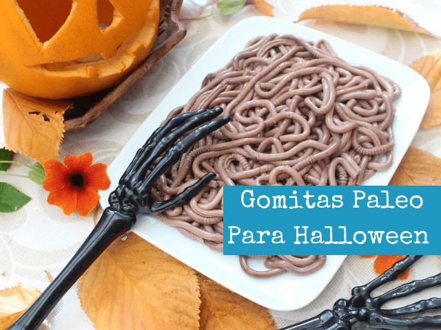 Gomitas Paleo Para Halloween
