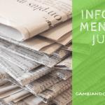 Informe Mensual #3: Julio de 2016
