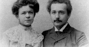 Mileva Maric y Alberto Einstein a finales del siglo XIX