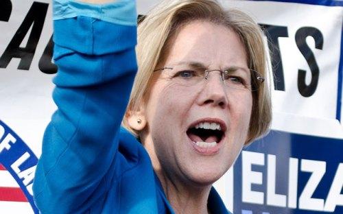 Nueva senadora por Massachusetts Elizabeth Warren. Flickr
