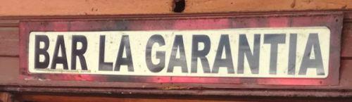 Bar La Garantía