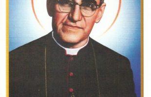 En la canonización de Monseñor Romero