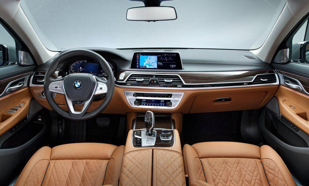 BMW SERIE 7 2019 COCKPIT