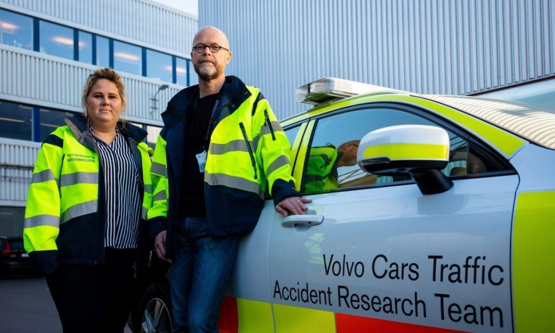 Investigación de accidentes Volvo