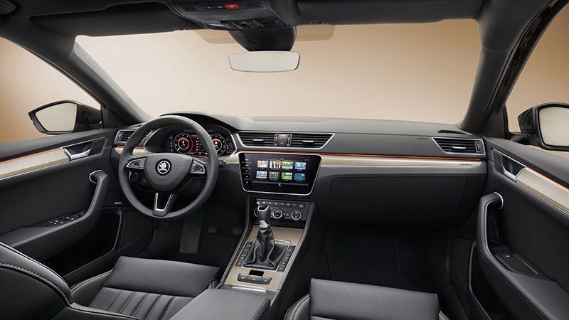 INTERIOR SKODA SUPERB 2019