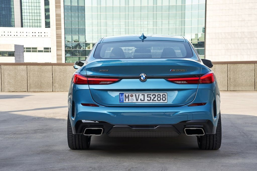 TRASERA BMW GRAN COUPÉ
