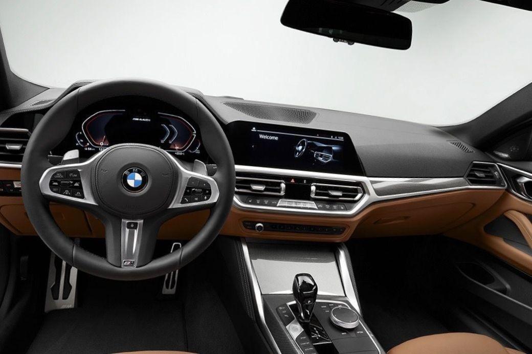 BMW SERIE 4 2020 INTERIOR COCKPIT