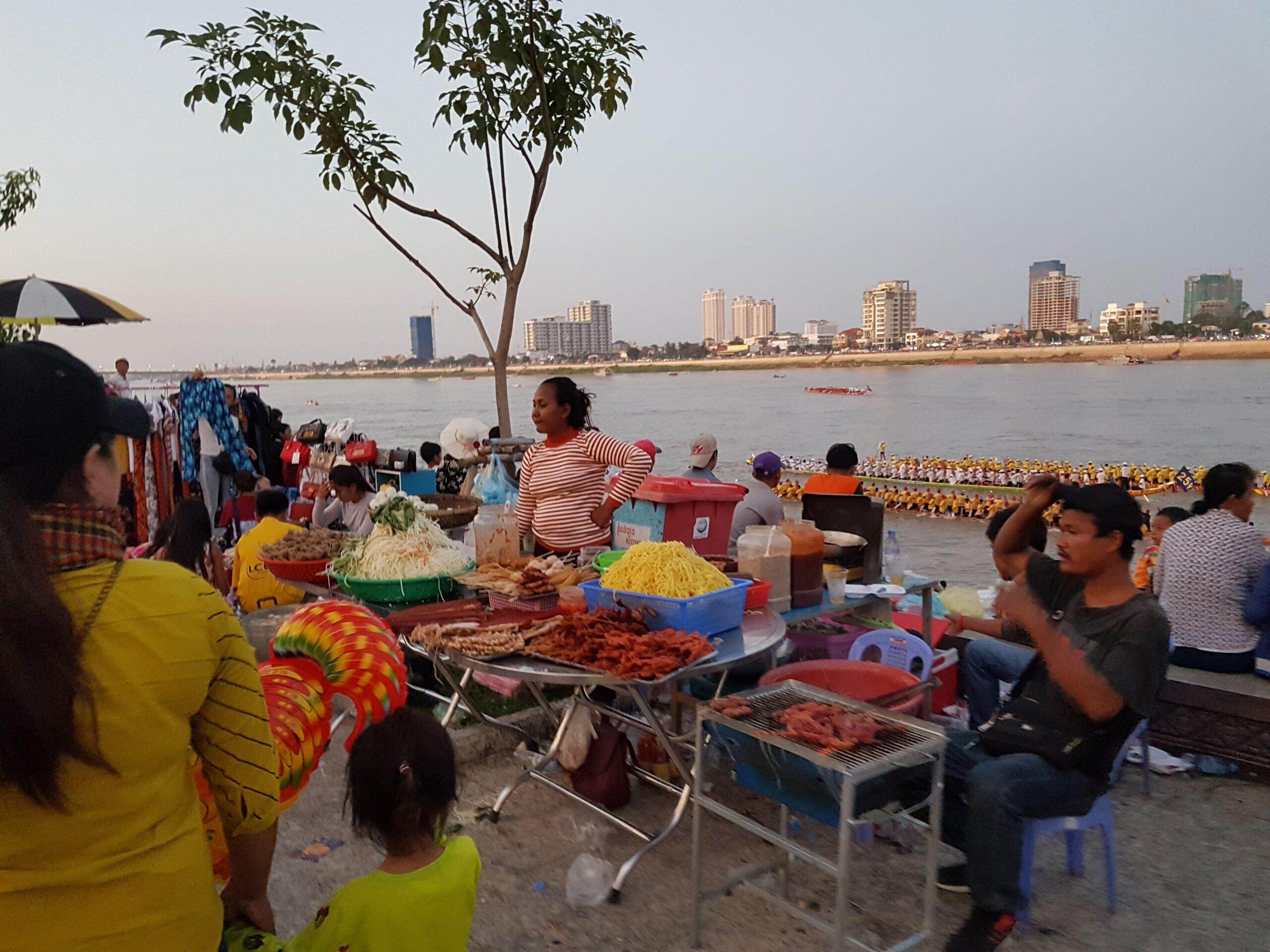Cambodian Water Festival (Bon Om Touk;បុណ្យអំុទូក)