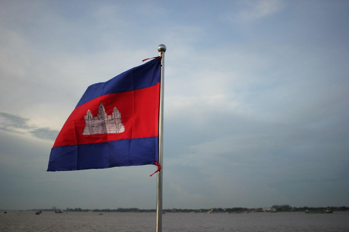 Flagge Kambodscha