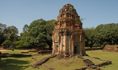 Bakong Brick Tower - Siem Reap, Cambodja