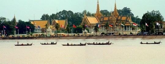 Royal Palace - Phnom Penh, Cambodja