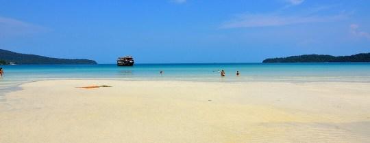 Strand Sihanoukville - Cambodja