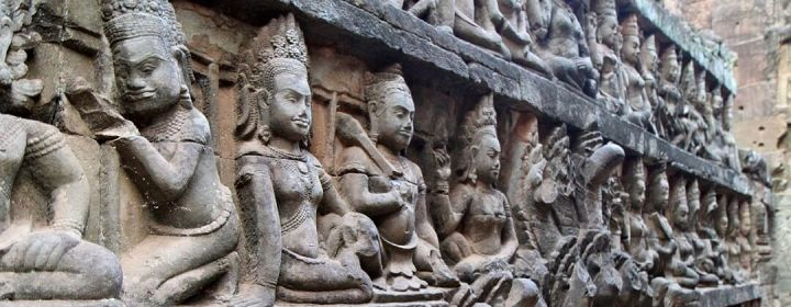 Terrace of the Leper King – Angkor Thom
